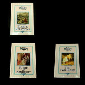 Lot of 3 Elsoe Dinsmore: Hardback Books # 9-10-11